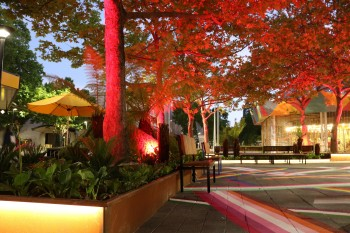 City Walk 'backyard' lighting – City Renewal Authority