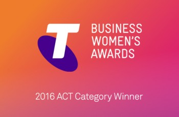 The 2016 Telstra Business Woman ACT Corporate & Private Award